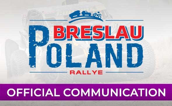 Breslau Rallye Les dates 2020
