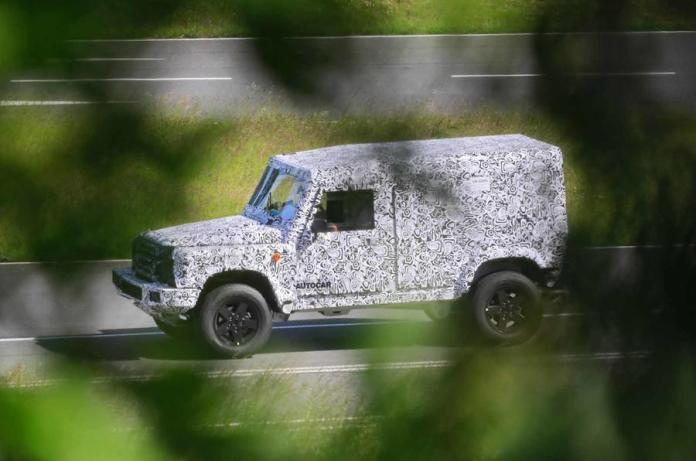 Projet Grenadier 4x4 Esprit Defender es-tu là ?