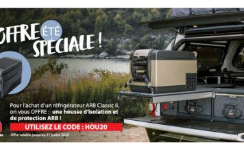 Pour l'achat d'un frigo ARB Classic 2 Equip'Raid offre la housse d'isolation aide protection ARB.