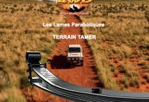 Vous pouvez faire confiance au célèbre équipementier Australien Terrain Tamer. Leurs nouvelles lames paraboliques sont conçues pour un confort de conduite maximal.