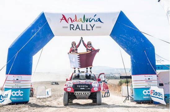 Andalucia rally 2020 Une première édition pour Nasser Al Attiyah