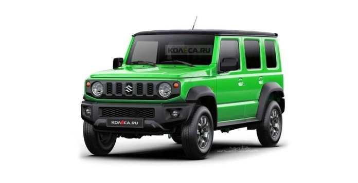 Suzuki Un Jimny 5 portes ?