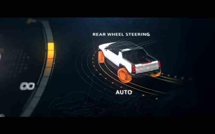 GMC Hummer EV 100% électrique 1 000 ch et un couple de 15 590 Nm