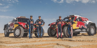DAKAR 2021 Sainz et Peterhansel sur MINI JCW Buggy