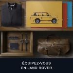 Land Rover Shopping La collection Land Rover, c'est tout l'esprit d'évasion et d'exploration de nos véhicules,