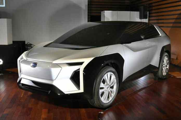 Subaru Un SUV électrique pour l'Europe