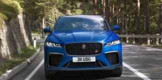 Jaguar F-Pace SVR Plus beau, plus performant