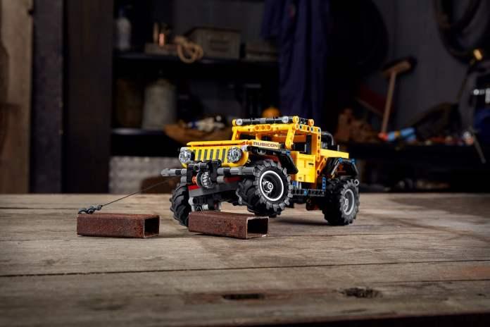Jeep Wrangler pour Noël LEGO Technic Wrangler Rubicon