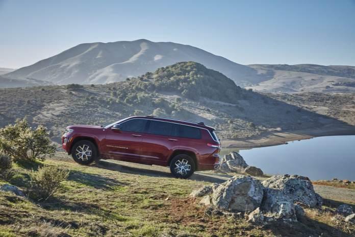 """Jeep Grand Cherokee L 2021 Version """"XLarge"""" 7 places pour les USA"""
