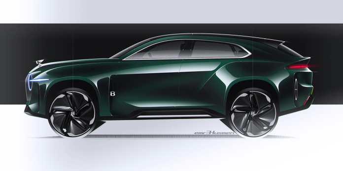 Bentley Emre Husmen EXP8 Concept Dessine-moi un SUV Si vous avez eu le coup