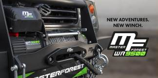 Masterorest Un nouveau treuil pour Suzuki Un treuil 4x4 plus puissant