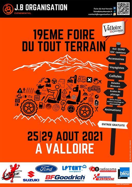 Valloire Rendez-vous à la foire du 4x4 2021