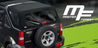 Masterforest Des bâches pour le Jimny Du premium pour le cabriolet Suzuki