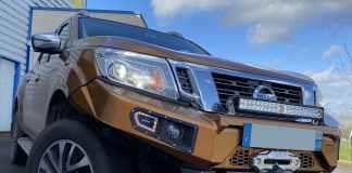 RLC Diffusion préparation Pick up Nissan Equipez votre Navara NP300