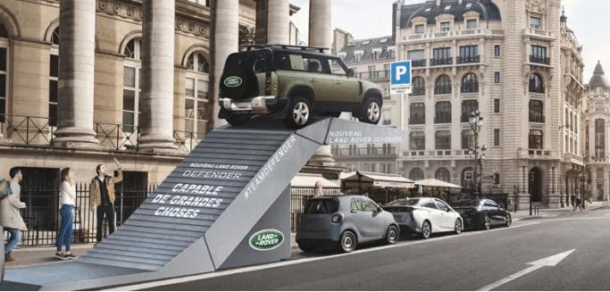 Land Rover mobilisé pour la croix rouge Du 22 au 30 mai, donnez, partager