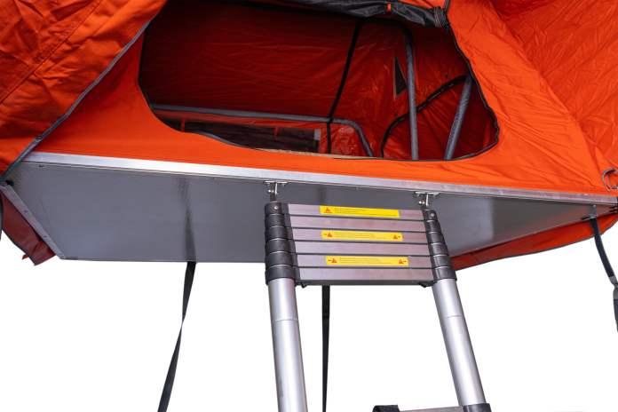 nouvelle alternative de tente de toit souple légère aussi bien au niveau du poids que du prix !