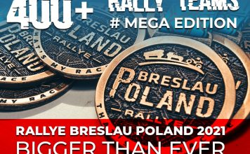Le Rallye Breslau fête ses 25 ans 400 équipages engagés !