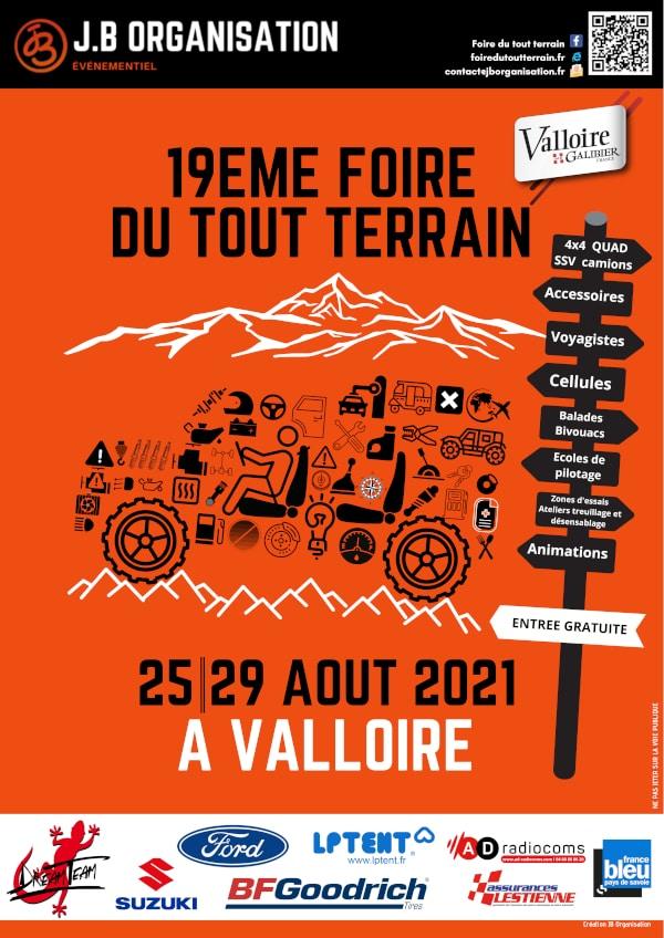 Valloire 2021 Inscriptions aux balades La foire du Tout Terrain en balade