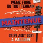 Valloire le salon 4x4 maintenue 19e Edition de la Foire du Tout Terrain