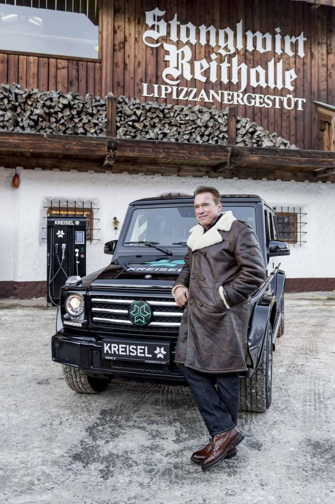 Mercedes G Wagen électrique Mercedes-Benz pense à son 4x4 légendaire électrique.