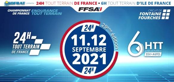 24 Heures TT 2021 - 24 Heures Tout Terrain de France La 29e édition c'est dans 15 jours