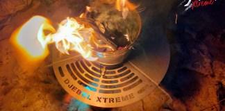 Djebel Xtrem Barbecue inox Dans la roue de secours