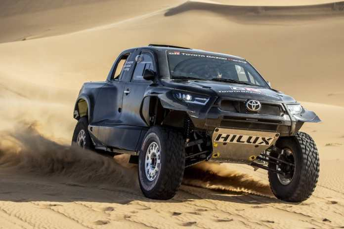 Toyota Hilux Dakar 2022 Le T1 +++ !