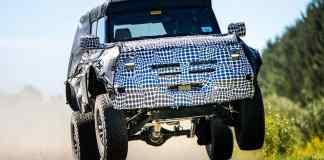 Ford Un Bronco version Raptor