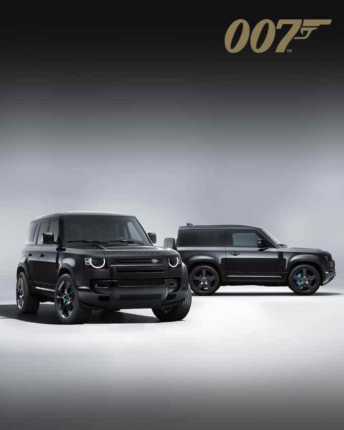 Defender V8 pour 007