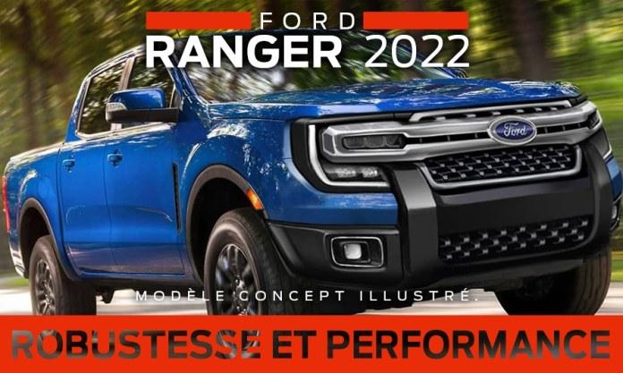 Ford Ranger pick up 2022  Le mini Ford F-150 !