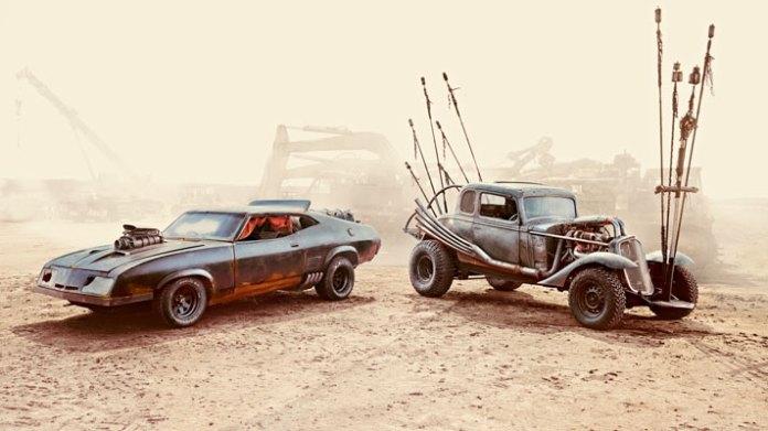 Mad Max les bolides du film aux enchères 13 monstres délirants