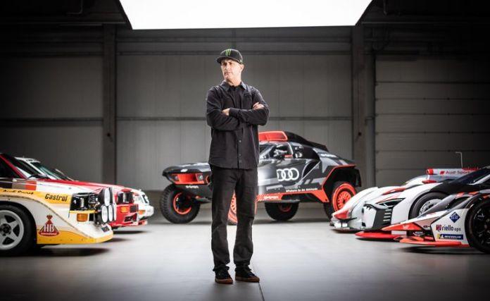 Ken Block – Audi... Électricité dans l'air Des Watts en perspective !