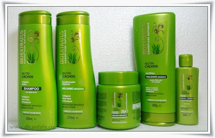 creme bio extratus para cabelos cacheados