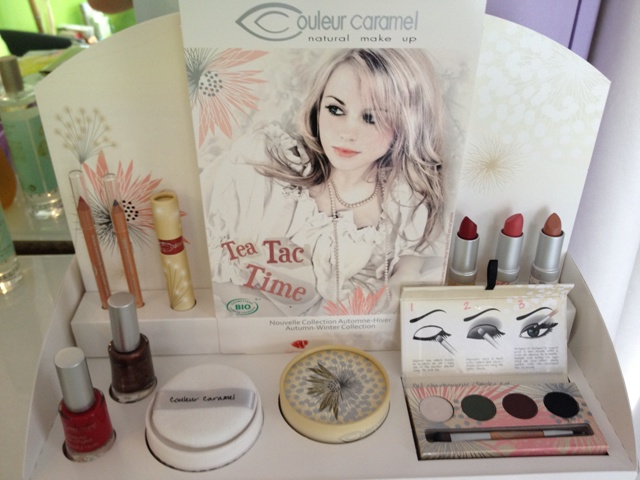 maquillage bio couleur caramel promo