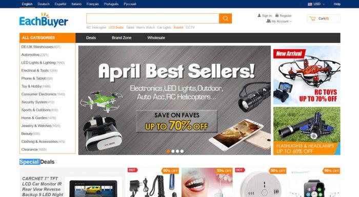 catalogue de buyer