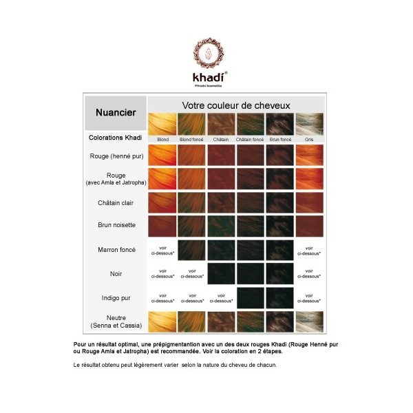khadi coloration