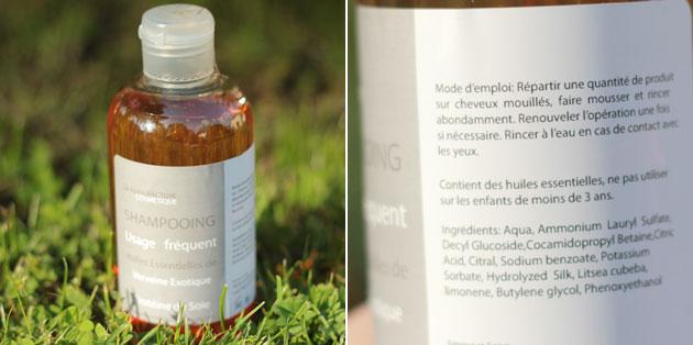 shampoing gel douche