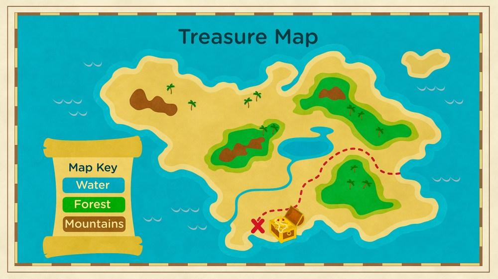 medium resolution of Read About Maps \u0026 Landforms   Science for Kids   Grades K-2 PDF