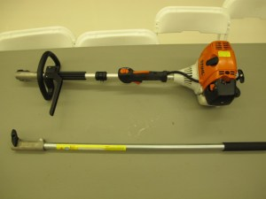 lawn & garden rental 09-1015 Stihl extension pole combo tool