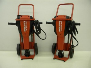 Rental Hilti 66lb jack hammer demolition