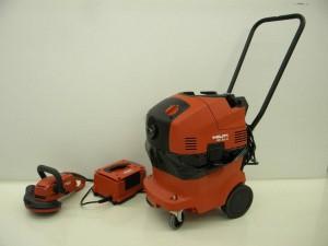 rental Hilti concrete grinder 6