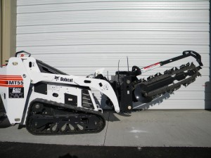 rental MT55 36 trencher attachment