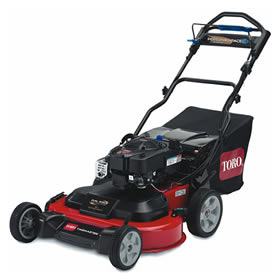 toro self propelled mower rental