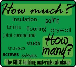 building materials calculator