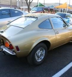 1969 opel gt rear [ 1024 x 768 Pixel ]