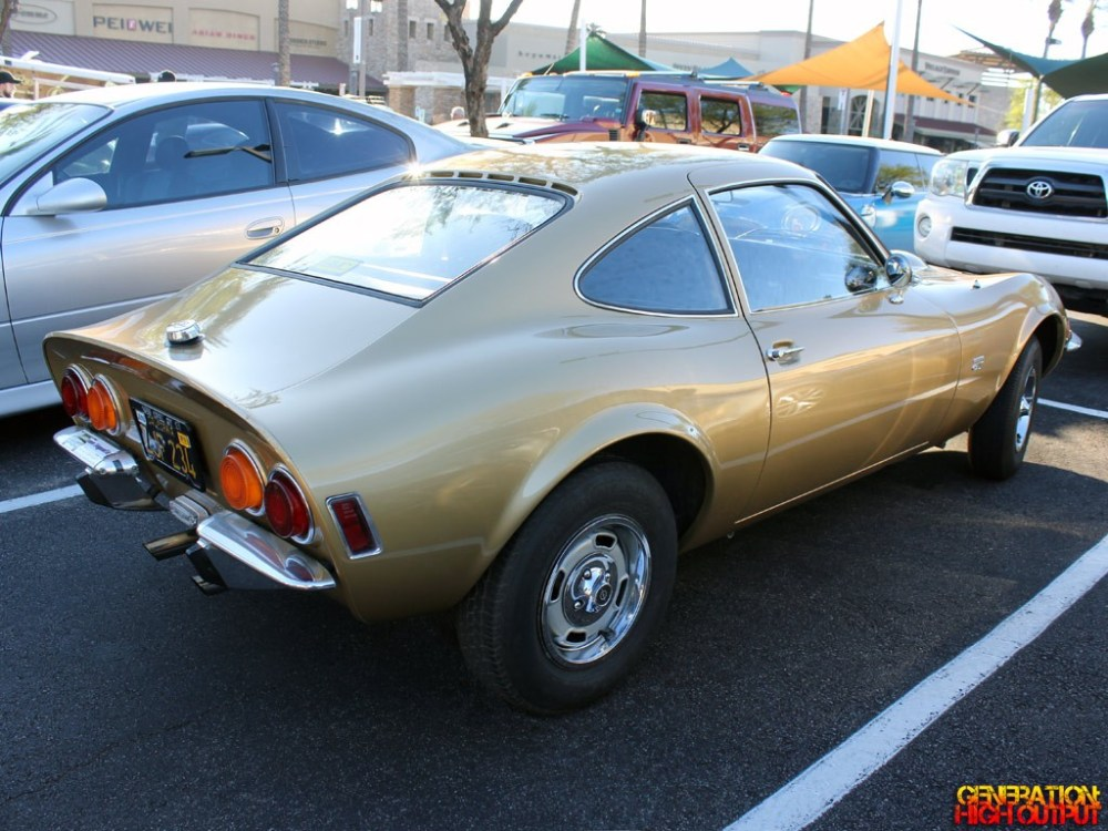 medium resolution of 1969 opel gt rear