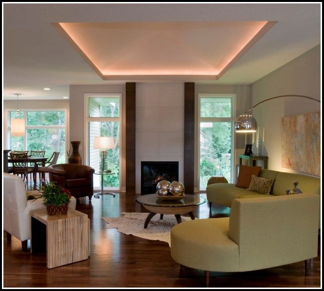 Led Indirekte Deckenbeleuchtung Wohnzimmer  wohnzimmer