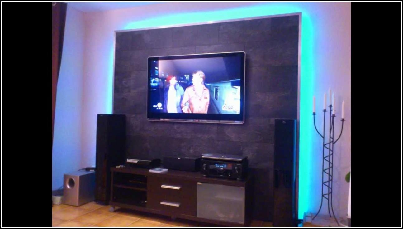 Wohnzimmer Ideen Tv Wand  wohnzimmer  House und Dekor