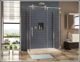 Duschkabine Neben Badewanne Dusche Duschabtrennung A2k ...