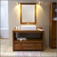Bad Waschtisch Unterschrank Holz   Badezimmer  House und ...